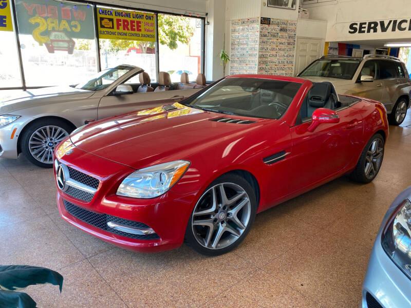 2013 Mercedes-Benz SLK for sale at International Motors in San Pedro CA