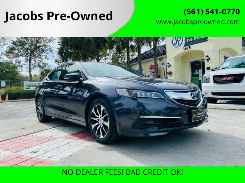 2015 Acura TLX for sale at Jacobs Pre-Owned in Lake Worth FL