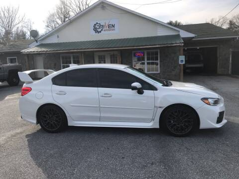 2017 Subaru WRX for sale at Driven Pre-Owned in Lenoir NC