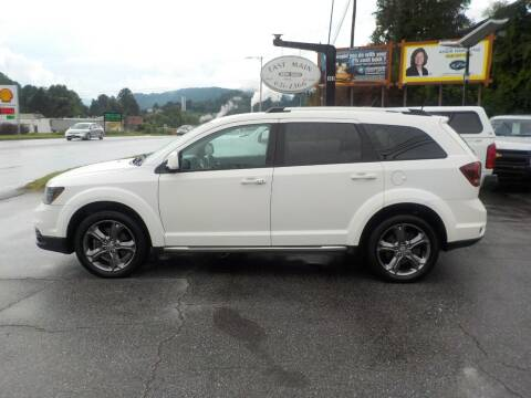 2016 Dodge Journey for sale at EAST MAIN AUTO SALES in Sylva NC