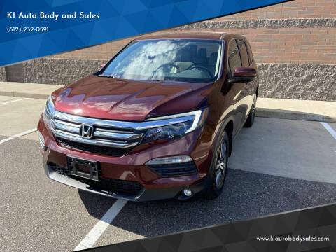 2018 Honda Pilot for sale at KI Auto Body and Sales in Lino Lakes MN