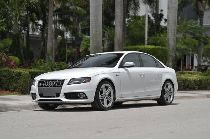2011 Audi S4 for sale at EURO STABLE in Miami FL