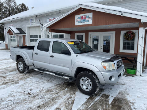 2010 Toyota Tacoma for sale at M&A Auto in Newport VT