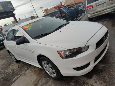 2010 Mitsubishi Lancer for sale at Sanaa Auto Sales LLC in Denver CO