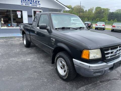 2002 Ford Ranger for sale at Hensley Auto Sales in Frankfort KY