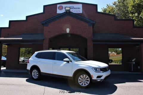 2018 Volkswagen Tiguan for sale at Atlanta Auto Brokers in Cartersville GA