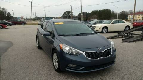 2014 Kia Forte for sale at Kelly & Kelly Supermarket of Cars in Fayetteville NC