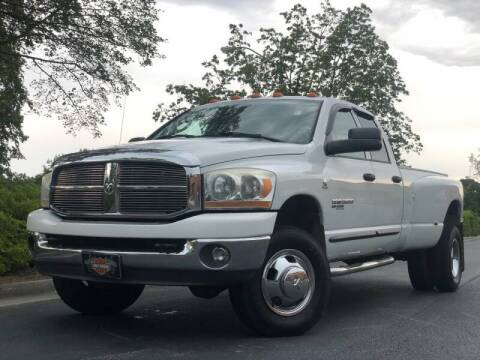 2006 Dodge Ram Pickup 3500 for sale at William D Auto Sales in Norcross GA