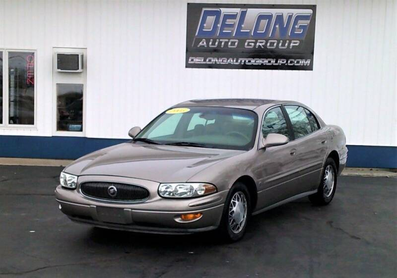 2003 Buick LeSabre for sale at DeLong Auto Group in Tipton IN