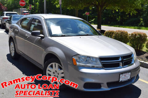 2013 Dodge Avenger for sale at Ramsey Corp. in West Milford NJ