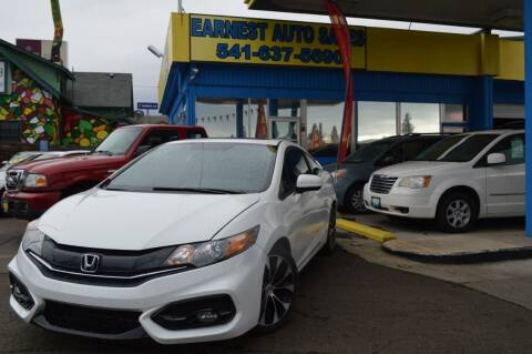 2015 Honda Civic for sale at Earnest Auto Sales in Roseburg OR