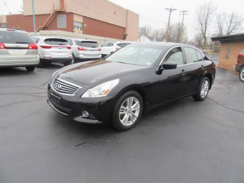 2011 Infiniti G37 Sedan for sale at Riverside Motor Company in Fenton MO