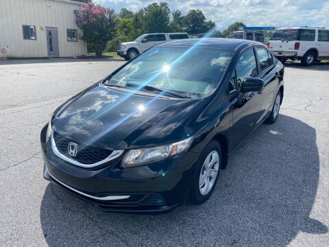 2014 Honda Civic for sale at Brewster Used Cars in Anderson SC