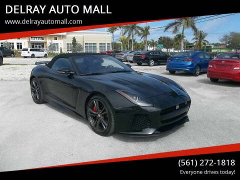 2017 Jaguar F-TYPE for sale at DELRAY AUTO MALL in Delray Beach FL