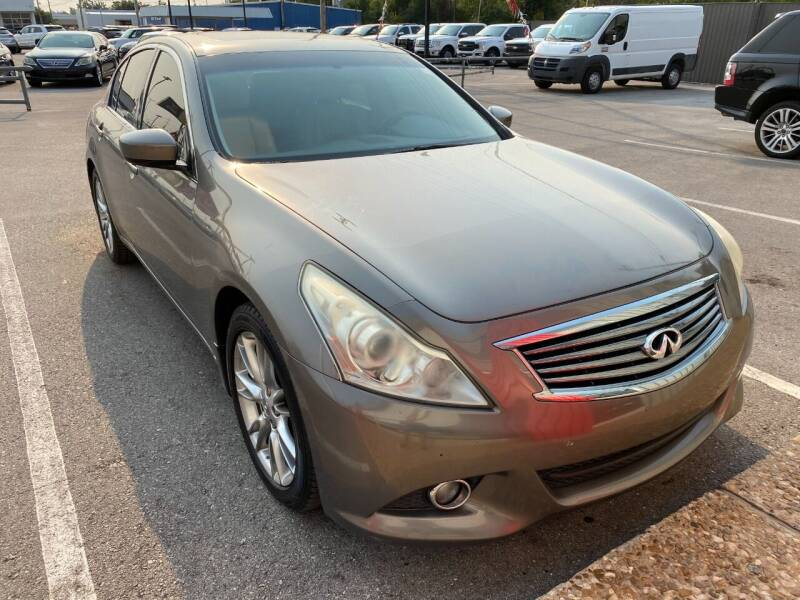 2012 Infiniti G37 Sedan for sale at Auto Solutions in Warr Acres OK