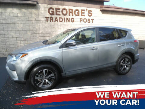2018 Toyota RAV4 for sale at GEORGE'S TRADING POST in Scottdale PA