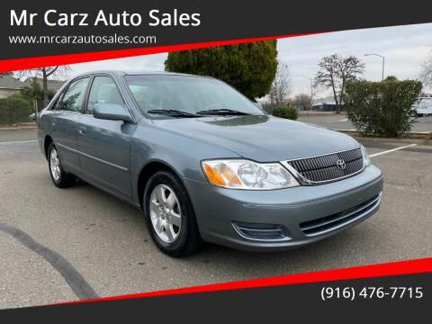 2002 Toyota Avalon for sale at Mr Carz Auto Sales in Sacramento CA