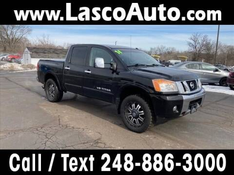 2014 Nissan Titan for sale at Lasco of Waterford in Waterford MI