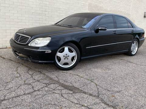 2002 Mercedes-Benz S-Class for sale at Samuel's Auto Sales in Indianapolis IN