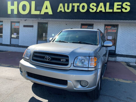 2004 Toyota Sequoia for sale at HOLA AUTO SALES CHAMBLEE- BUY HERE PAY HERE - in Atlanta GA