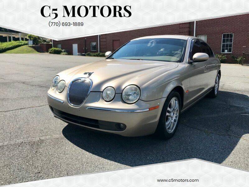 2005 Jaguar S-Type for sale at C5 Motors in Marietta GA