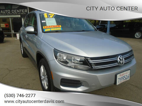 2017 Volkswagen Tiguan for sale at City Auto Center in Davis CA