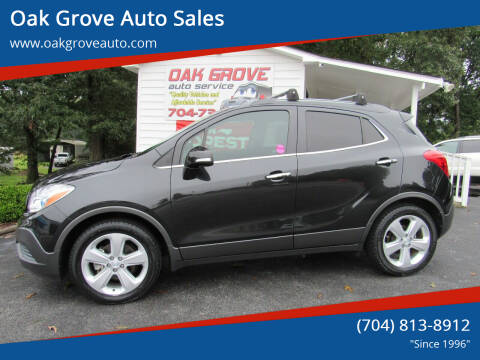 2015 Buick Encore for sale at Oak Grove Auto Sales in Kings Mountain NC