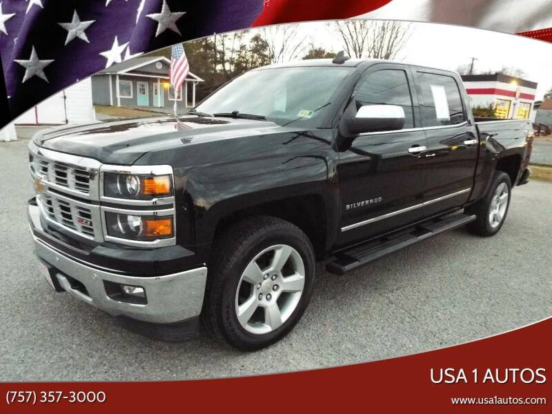 2015 Chevrolet Silverado 1500 for sale at USA 1 Autos in Smithfield VA