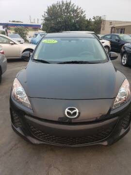 2013 Mazda MAZDA3 for sale at Thomas Auto Sales in Manteca CA