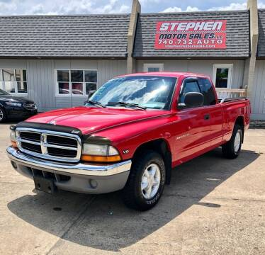 1997 Dodge Dakota for sale at Stephen Motor Sales LLC in Caldwell OH