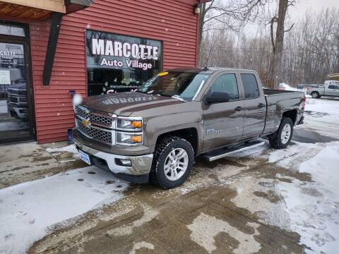 2014 Chevrolet Silverado 1500 for sale at Marcotte & Sons Auto Village in North Ferrisburgh VT