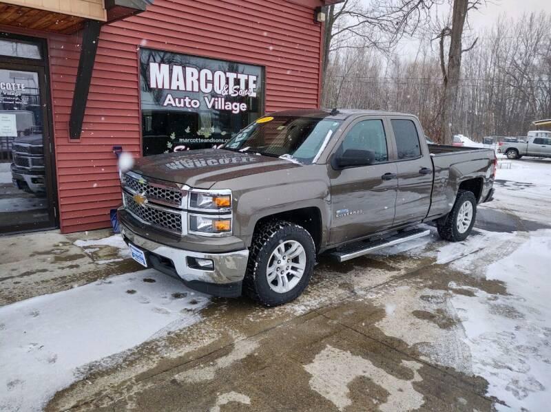 2014 Chevrolet Silverado 1500 for sale at Marcotte & Sons Auto Village in North Ferrisburgh VT