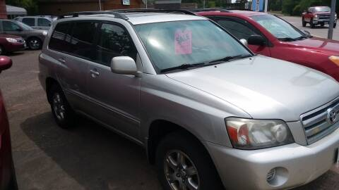 2007 Toyota Highlander for sale at Sunrise Auto Sales in Stacy MN