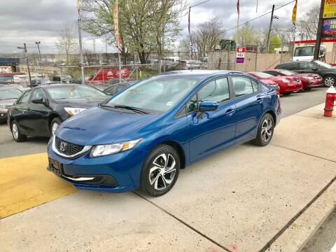 2015 Honda Civic for sale at JR Used Auto Sales in North Bergen NJ