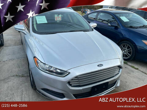 2015 Ford Fusion for sale at ABZ Autoplex, LLC in Baton Rouge LA