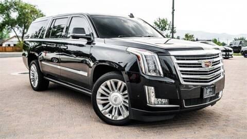 2017 Cadillac Escalade ESV for sale at MUSCLE MOTORS AUTO SALES INC in Reno NV