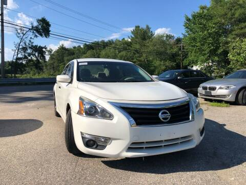 2013 Nissan Altima for sale at Royal Crest Motors in Haverhill MA
