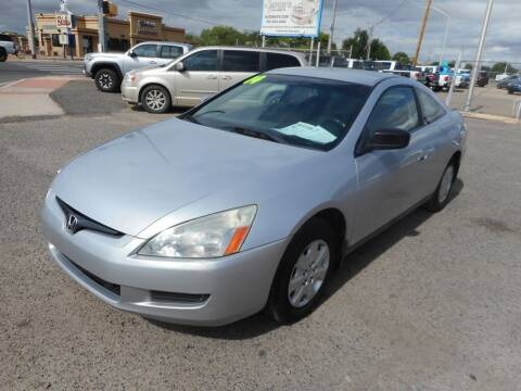 2004 Honda Accord for sale at AUGE'S SALES AND SERVICE in Belen NM