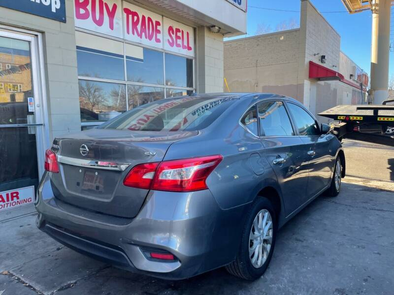 2017 Nissan Sentra for sale at Capitol Hill Auto Sales LLC in Denver CO