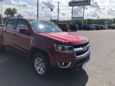 2018 Chevrolet Colorado for sale at Pine Line Auto in Olyphant PA