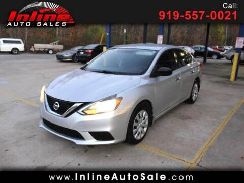 2017 Nissan Sentra for sale at Inline Auto Sales in Fuquay Varina NC