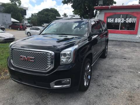 2015 GMC Yukon XL for sale at CARSTRADA in Hollywood FL