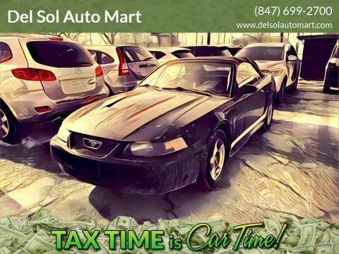 2004 Ford Mustang for sale at Del Sol Auto Mart in Des Plaines IL