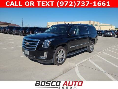 2018 Cadillac Escalade ESV for sale at Bosco Auto Group in Flower Mound TX