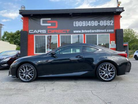 2018 Lexus RC 350 for sale at Cars Direct in Ontario CA