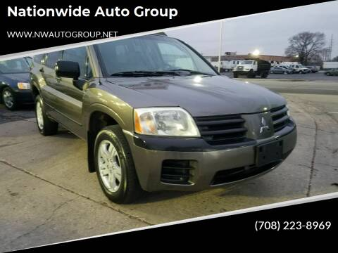 2004 Mitsubishi Endeavor for sale at Nationwide Auto Group in Melrose Park IL