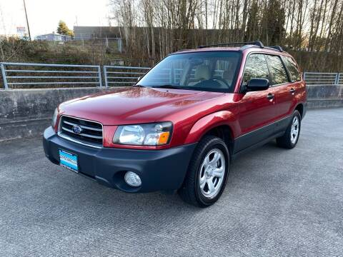 2003 Subaru Forester for sale at Zipstar Auto Sales in Lynnwood WA