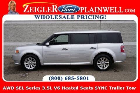 2012 Ford Flex for sale at Zeigler Ford of Plainwell- Jeff Bishop in Plainwell MI