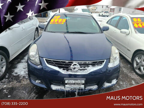 2010 Nissan Altima for sale at MAUS MOTORS in Hazel Crest IL