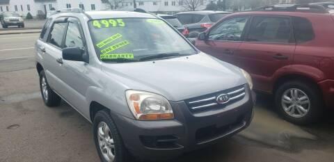 2008 Kia Sportage for sale at TC Auto Repair and Sales Inc in Abington MA